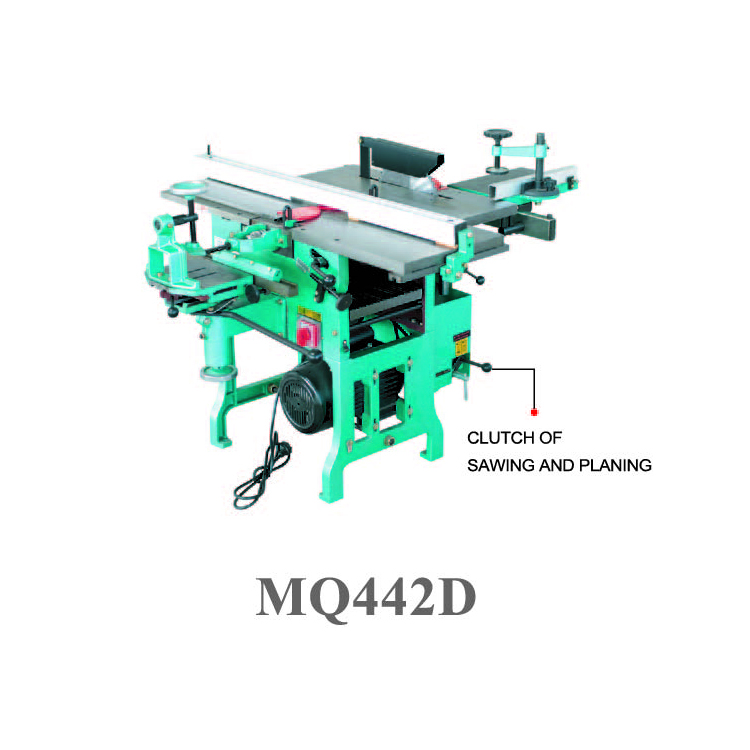 Multi-use woodworking machine MQ442D