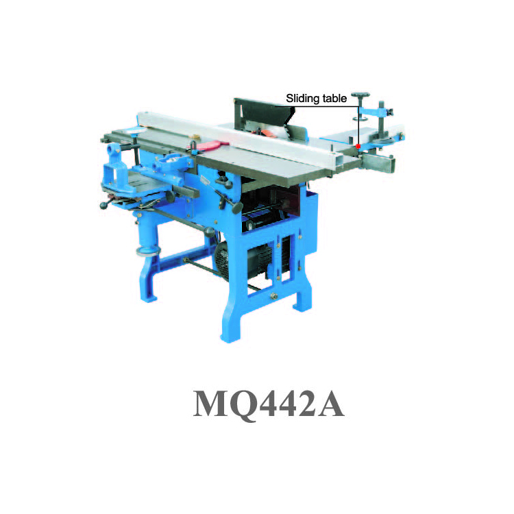 Multi-use woodworking machine MQ442A