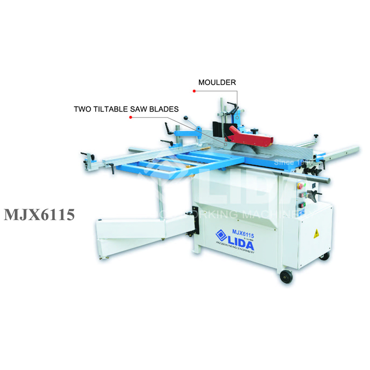 Combined sliding table saw MJX6115